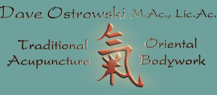 DaveOstrowski Traditional Acupuncture and Oriental Bodywork